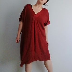 Made in Italy red dress